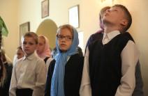 Праздничная служба c митрополитом Кириллом