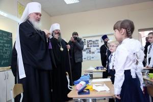 Митрополит Калужский и Боровский Климент посетил Свято Симеоновскую православную гимназию Екатеринбурга