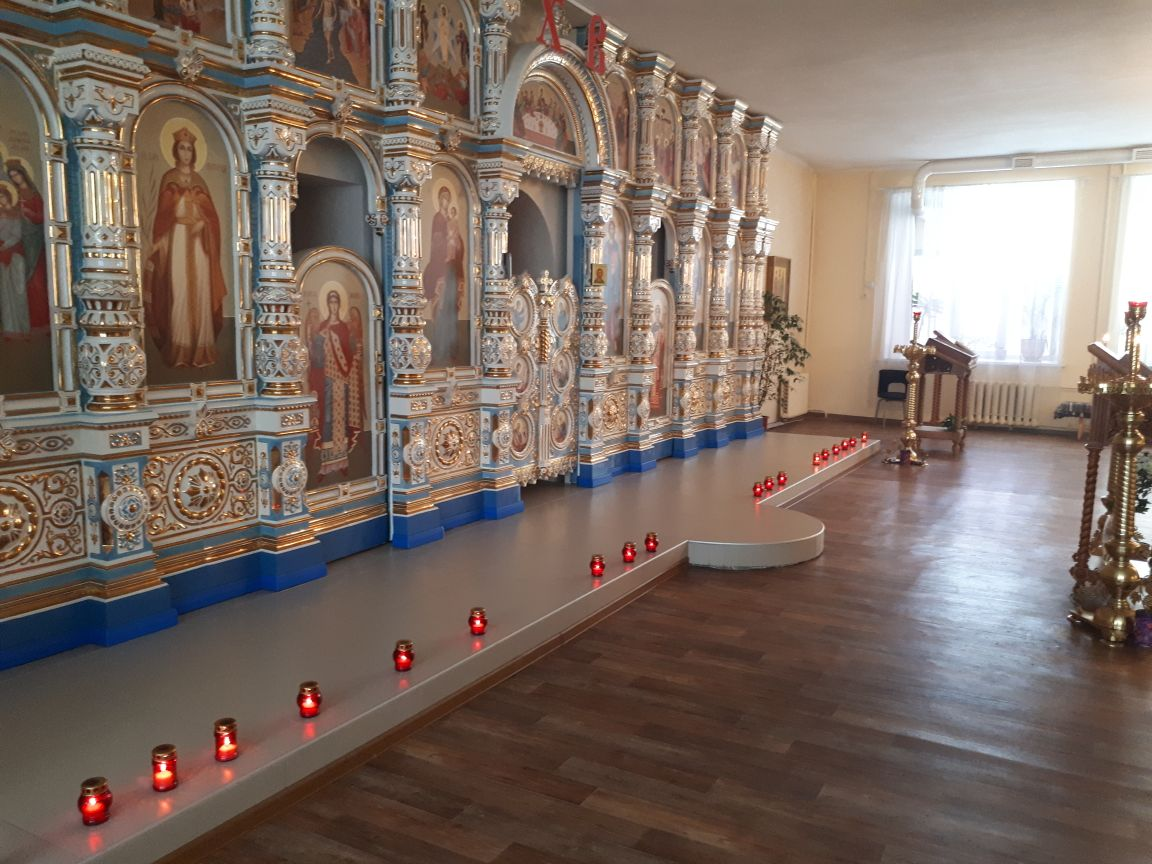 В нашем храме прошла акция В защиту жизни