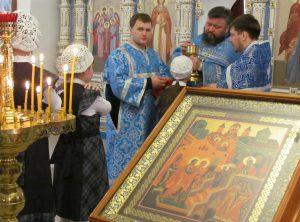С Праздником Введения во храм Пресвятой Богородицы!