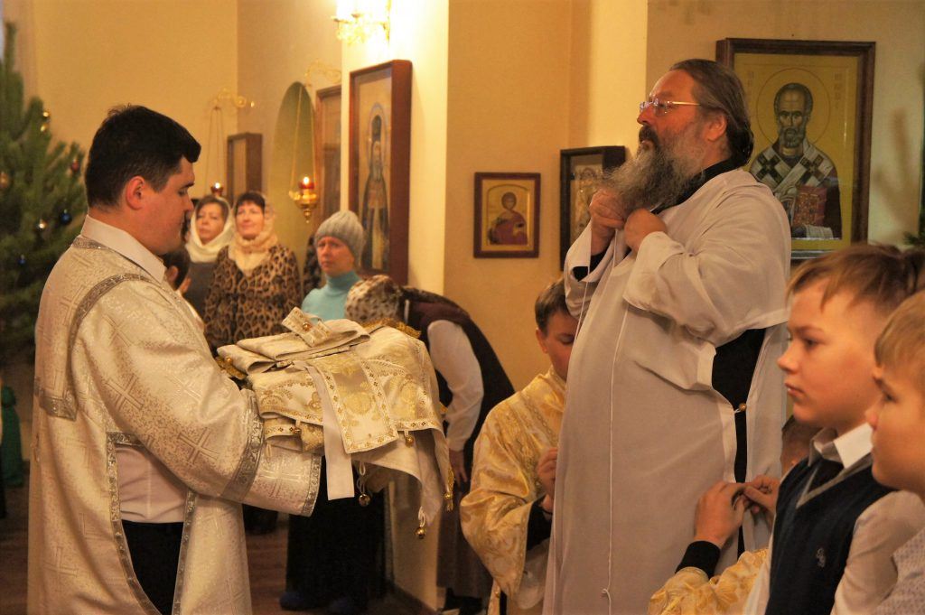 17 января (в четверг) в нашем храме будет служить митрополит Екатеринбургский и Верхотурский Кирилл