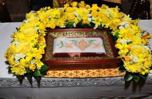 Пояс святителя Иоанна Шанхайского выставлен для поклонения верующих в Екатеринбурге