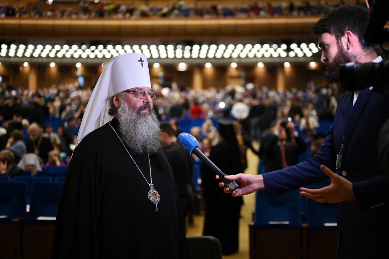 Митрополит Кирилл на открытии Рождественских чтений: «Нам необходимо вернуть дух народа победителя»