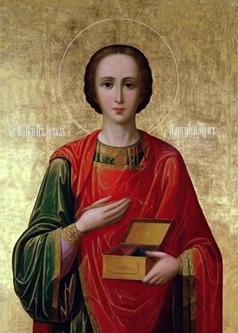 9 августа — память Великомученика и целителя Пантелеимона