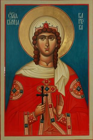 Великомученица Варва́ра Илиопольская и мученица Иулиа́ния Илиопольская