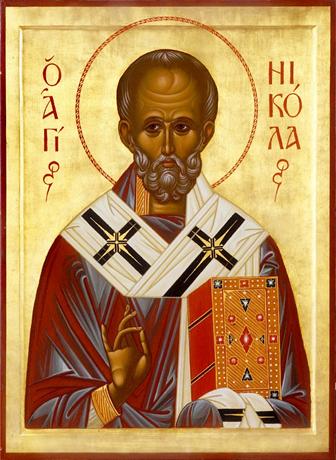 Святитель Николай, архиепископ Мир Ликийский, чудотворец